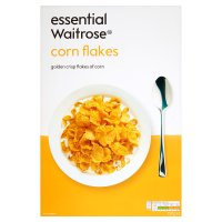essential Waitrose corn flakes