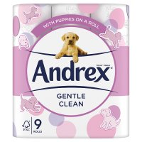 Andrex Puppies on A Roll Toilet Rolls