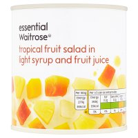 Waitrose essential Chunky Fruit Salad