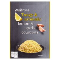 Waitrose lemon & garlic couscous