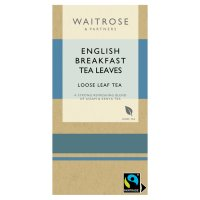 Waitrose English breakfast leaf tea