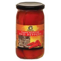 Gaea flame roasted red peppers