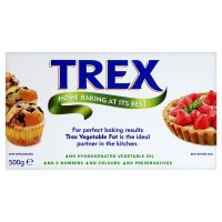 Trex vegetable fat