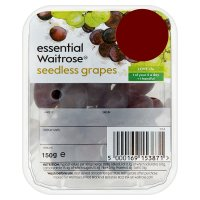 essentail Waitrose Grapes - mini punnet
