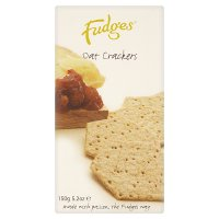Fudges oat crackers