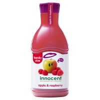 Innocent apple and raspberry juice 1.35litre