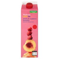 Waitrose Love Life peach and raspberry smoothie
