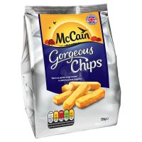 McCain simply gorgeous chunky chips