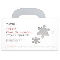 Waitrose Delia's classic Christmas cake boximage