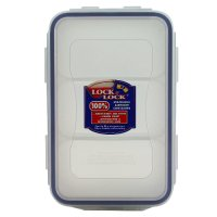 Lock & Lock 1 litre container with 3 compartments