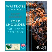 Waitrose Slow Cooked Sticky Toffee Pork