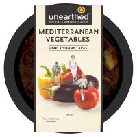 Unearthed mediterranean vegetables