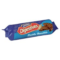 McVitie's digestives double chocolate