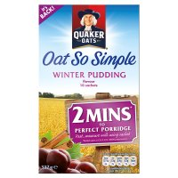 Quaker Oats So Simple Winter Pudding 10S 337g