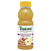 Tropicana passion fruit pear & apple