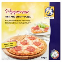 Dietary Specials thin & crispy pepperoni pizza