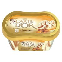 My Carte D'Or caramel ice cream mini