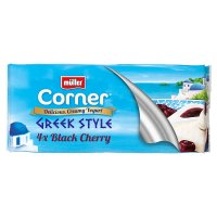 Müller Corner Greek style yogurt with black cherry