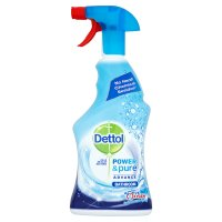 Dettol power & pure bathroom with oxygen