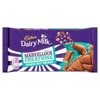 Cadbury Dairy Milk marvellous creations cookie nut crunch