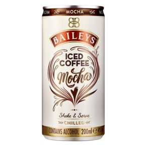 Baileys Mocha Iced Coffee.