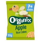 Organix organic apple rice cakes - stage 2 - 50g Brand Price Match - Checked Tesco.com 24/11/2014