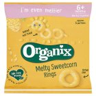 Organix organic sweetcorn rings - stage 2 - 20g Brand Price Match - Checked Tesco.com 24/11/2014