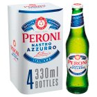 Peroni Nastro Azzurro 4 x 330ml Bottles - 4x330ml Brand Price Match - Checked Tesco.com 01/07/2015