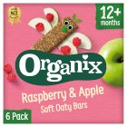 Organix organic raspberry & apple goodies bars - 6x30g Brand Price Match - Checked Tesco.com 24/11/2014