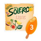 Solero exotic 3 pack ice cream lolly - 264ml