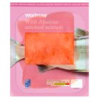 Waitrose wild Alaskan smoked salmon, 4 slices - 100g