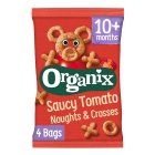 Organix organic noughts & crosses goodies - 4x15g Brand Price Match - Checked Tesco.com 24/11/2014