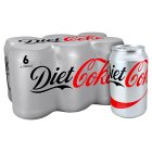 Diet Coke multipack cans - 6x330ml Brand Price Match - Checked Tesco.com 01/07/2015