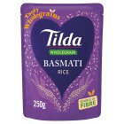 Tilda steamed brown basmati rice - 250g Brand Price Match - Checked Tesco.com 17/08/2016