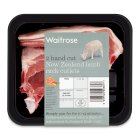 Waitrose 2 hand cut New Zealand lamb cutlets - per kg
