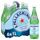 S.Pellegrino sparkling natural mineral water - 6x1litre Brand Price Match - Checked Tesco.com 23/04/2015