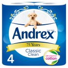 Andrex Classic White Toilet Rolls - 4s Brand Price Match - Checked Tesco.com 24/11/2014
