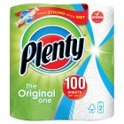 Plenty white kitchen towels - 2s Brand Price Match - Checked Tesco.com 25/02/2015