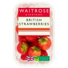 Waitrose sweet and juicy strawberries - 400g