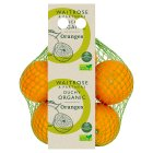 Waitrose Organic oranges - minimum 3