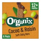 Organix cocoa & raisin cereal bars - 6x30g Brand Price Match - Checked Tesco.com 24/11/2014