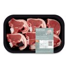 Waitrose 6 hand cut New Zealand lamb loin chops -