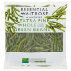 essential Waitrose extra fine whole green beans - 500g