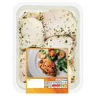 Waitrose British garlic & herb chicken thighs - 650g