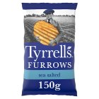 Tyrrells furrows sea salted crisps - 150g