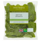 Waitrose ready-washed spinach - 80g