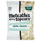 Metcalfe's skinny topcorn white cheese - 75g Introductory Offer
