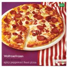 Waitrose Frozen spicy pepperoni feast pizza - 495g