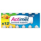 Actimel Multifruit - 12x100g Brand Price Match - Checked Tesco.com 17/08/2016