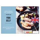 Waitrose slow cooked pork belly - 430g